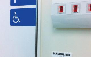 Adesivos de porta e placas braile