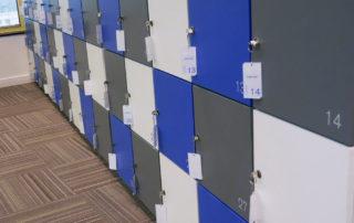 Identificação dos lockers