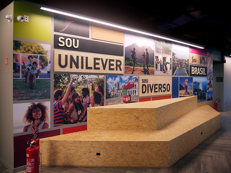 Painel Sou Unilever